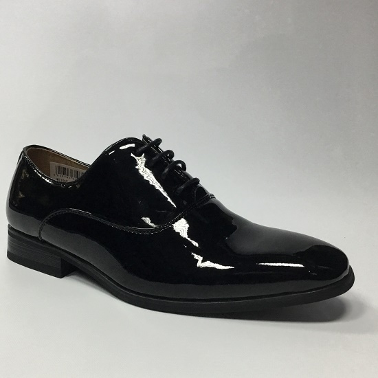 Goor Black Patent Shoes image