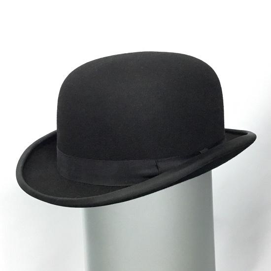Black Bowler Hat image